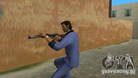 Автомат Калашникова Модернизированный для GTA Vice City третий скриншот