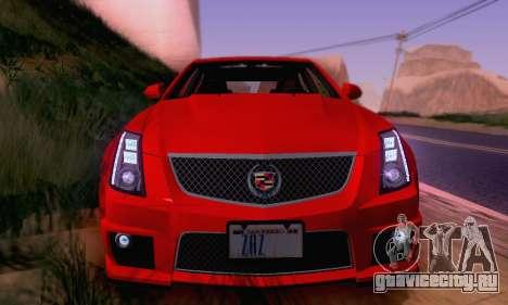 Cadillac CTS-V Sedan 2009-2014 для GTA San Andreas колёса