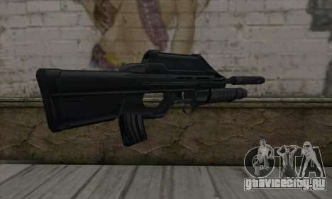 SC-20K Assault Rifle для GTA San Andreas второй скриншот