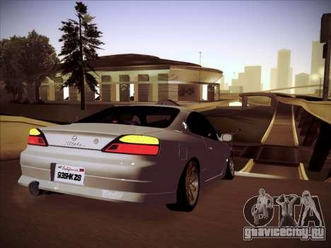 Nissan Silvia S15 Stanced для GTA San Andreas вид справа