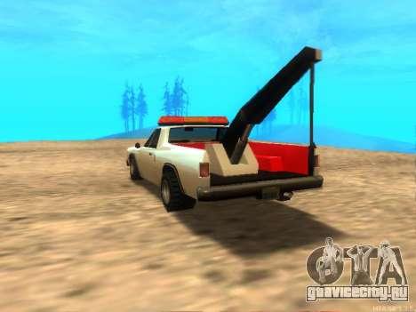 Новый Эвакуатор (Picador) для GTA San Andreas вид сзади слева