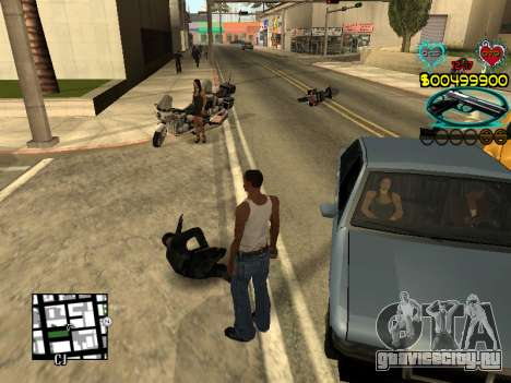 C-HUD Guns для GTA San Andreas седьмой скриншот
