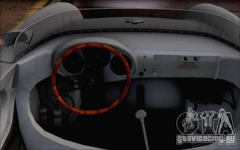 Porsche 550 Spyder 1955 для GTA San Andreas вид справа