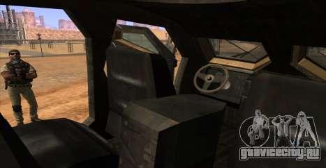 M-ATV из Call of Duty: Ghosts для GTA San Andreas