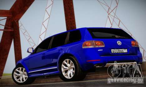 Volkswagen Touareg 2010 для GTA San Andreas вид справа
