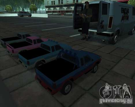 RC Pickup Off Road для GTA San Andreas вид справа