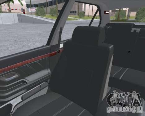 BMW 7-series E38 для GTA San Andreas вид сзади