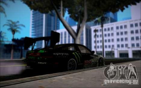 Nissan 240SX Monster Energy для GTA San Andreas вид сзади слева