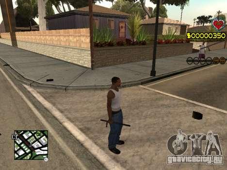 C-HUD Guns для GTA San Andreas второй скриншот