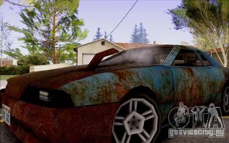 Elegy by Swizzy для GTA San Andreas вид справа