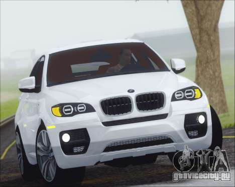BMW X6 M 2013 Final для GTA San Andreas
