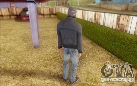 Russian Thug для GTA San Andreas третий скриншот