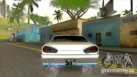 Elegy Neli для GTA San Andreas вид сзади слева