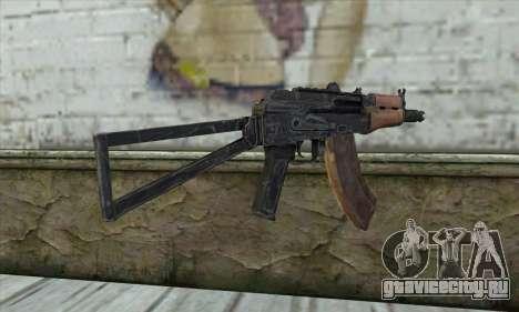 AKС-74У для GTA San Andreas второй скриншот