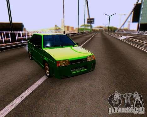 ВАЗ 2108 Tuneable для GTA San Andreas вид сбоку