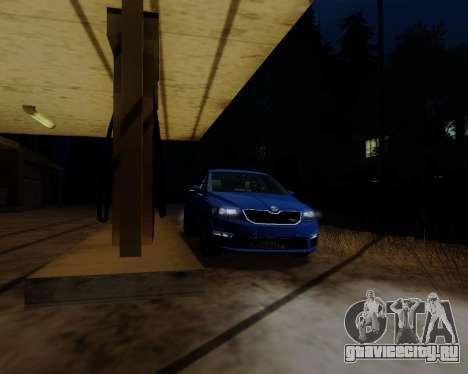 Skoda Octavia A7 RS для GTA San Andreas вид слева