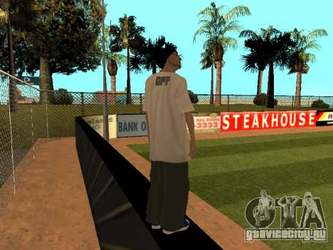 Скин Трейсера GPF Team для GTA San Andreas третий скриншот