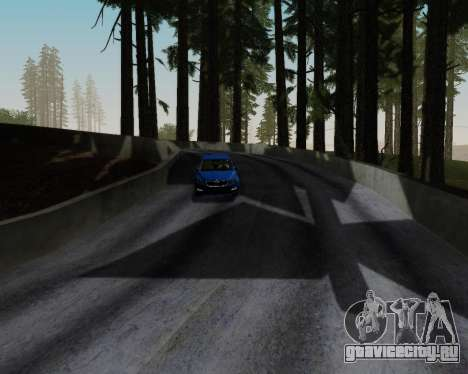 Skoda Octavia A7 RS для GTA San Andreas вид снизу