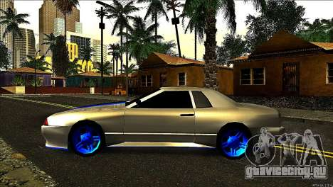 Elegy Neli для GTA San Andreas вид слева