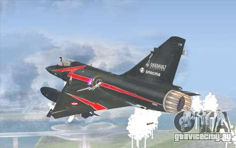 Dassault Mirage 2000-C для GTA San Andreas вид слева