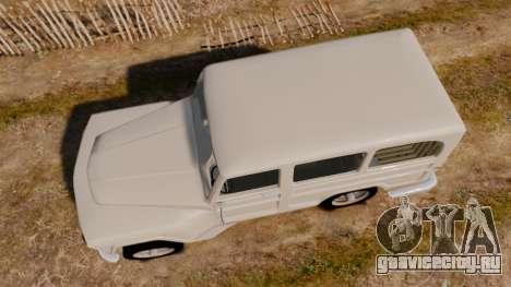 Rural Willys для GTA 4 вид справа