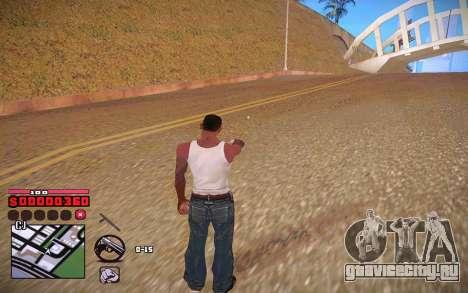C-HUD by ComPot для GTA San Andreas пятый скриншот