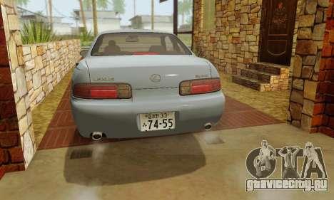 Lexus SC300 v1.01 [ImVehFT] для GTA San Andreas вид сверху