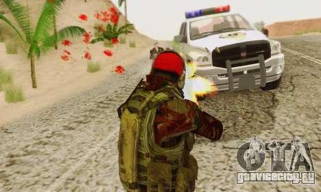 Blood On Screen для GTA San Andreas седьмой скриншот