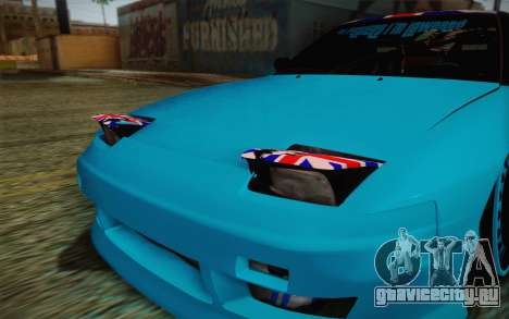 Nissan 240SX Drift Stance для GTA San Andreas вид сбоку