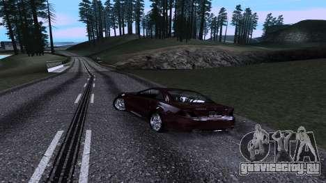 New Roads v3.0 Final для GTA San Andreas третий скриншот