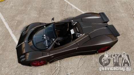 Pagani Zonda C12 S Roadster 2001 PJ3 для GTA 4 вид справа