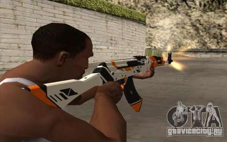 AK-47 для GTA San Andreas шестой скриншот
