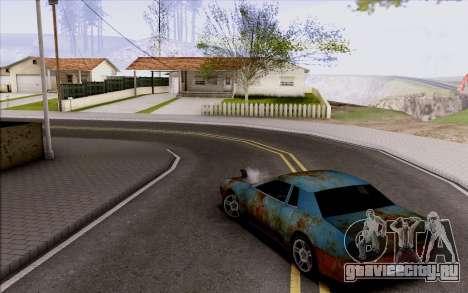 Elegy by Swizzy для GTA San Andreas вид сзади