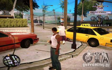C-HUD JDM для GTA San Andreas второй скриншот