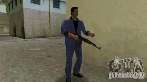 Автомат Калашникова Модернизированный для GTA Vice City седьмой скриншот