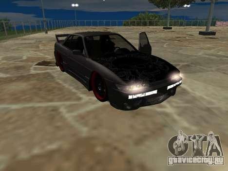 Nissan s13 фондовой fusion для GTA San Andreas