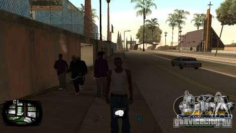 C-HUD Kings of Rap для GTA San Andreas