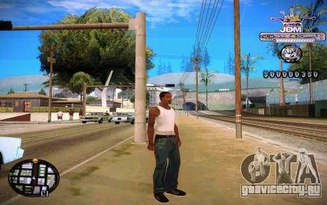 C-HUD JDM для GTA San Andreas