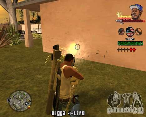 C-HUD Niggas для GTA San Andreas четвёртый скриншот