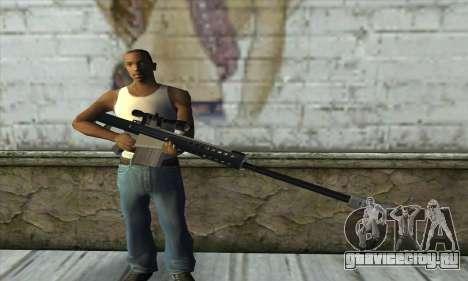 Barrett M82 для GTA San Andreas третий скриншот