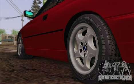 BMW 850CSi E31 1996 для GTA San Andreas вид сзади слева
