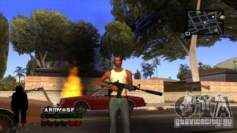 C-HUD Army для GTA San Andreas четвёртый скриншот