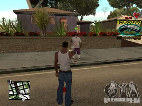 C-HUD Guns для GTA San Andreas четвёртый скриншот