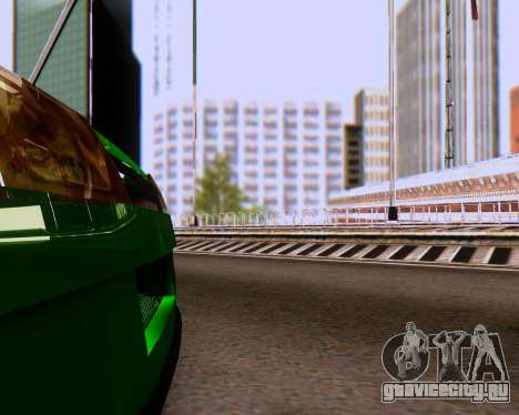 ВАЗ 2108 Tuneable для GTA San Andreas вид снизу