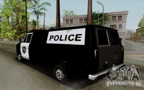 S.W.A.T van для GTA San Andreas
