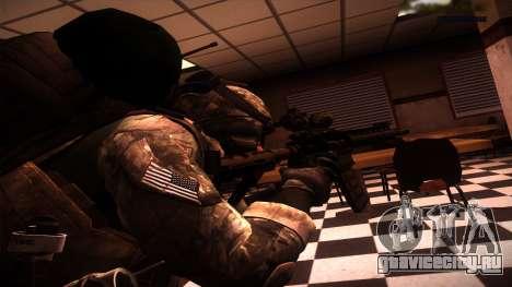 Ranger из Call Of Duty: Ghosts для GTA San Andreas второй скриншот