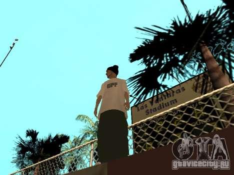 Скин Трейсера GPF Team для GTA San Andreas второй скриншот