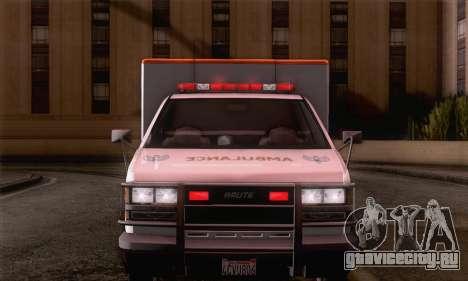 GTA 5 Ambulance для GTA San Andreas