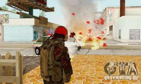 Blood On Screen для GTA San Andreas