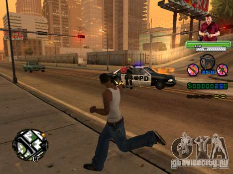 C-HUD Michael (GTA V) для GTA San Andreas четвёртый скриншот
